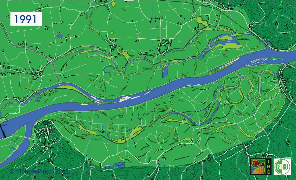 river danube 1991