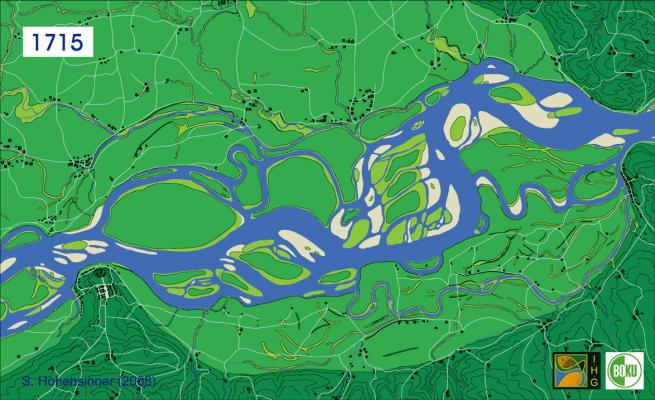 river danube 1715