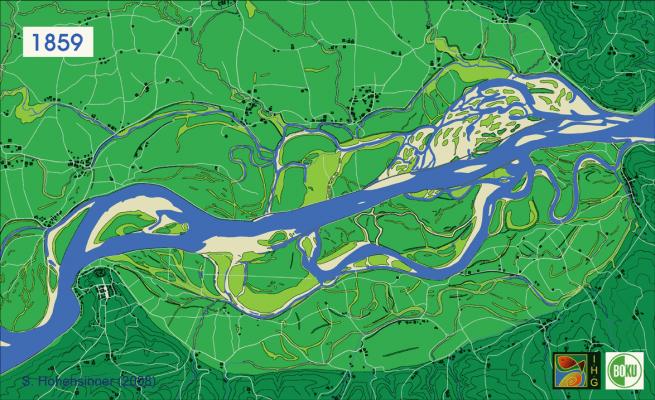 river danube 1859