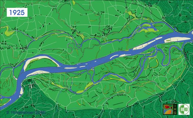 river danube 1925